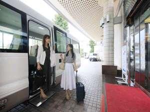 伊東駅からの送迎あり、電車でお越しの方も楽々♪