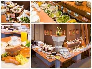 ホテルパコジュニア北見:『朝食バイキング』 約40種類と品数が豊富です