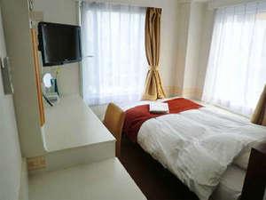 ホテル新橋三番館:客室の一例(シングルルーム)