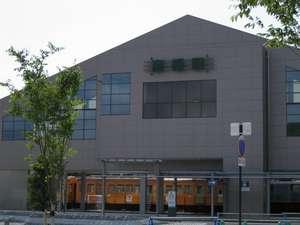 【JR・近江鉄道彦根駅東口】当ホテルは目の前!ビジネスにも観光にも便利です。