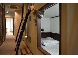 1泊1980円ホテル Tokyo:カプセルルーム