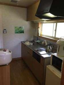 前森高原コテージ:コテージキッチン