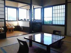 魚がうまい宿 齋藤旅館:風呂付客室:暖かな日差しが降り注ぎます