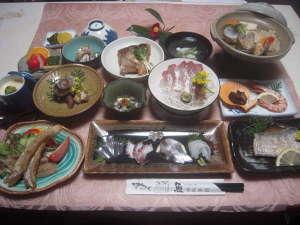 魚がうまい宿 齋藤旅館:基本の海の幸プラン