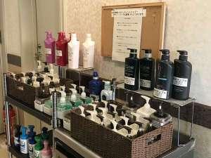 ホテルクリスタル広島:当館はお風呂が大変狭いので、シャンプーバーをご用意しております。