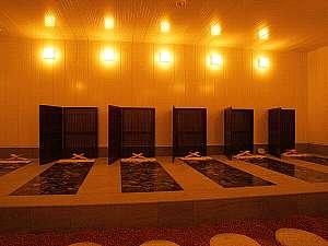 萩ロイヤルインテリジェントホテル:【癒しの空間】岩盤浴ご宿泊のお客様は割引料金でご利用可能です。17時~23時30分