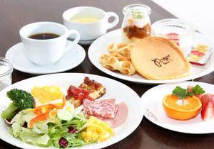 ダイワロイネットホテル岡山駅前:朝食は【Resort】で食べる和・洋・岡山郷土料理のバイキングスタイル!
