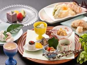 健康美食と炭酸・美肌の湯 御宿 友喜美荘:【お献立】春の料理(イメージ)