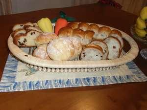 民宿 星の栖:手作りのパン