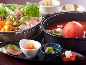 ホテルアラマンダ:アラマンダ風トマト鍋コース