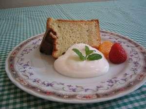 ペンションシフォン:メレンゲだけで焼いたこだわりシフォンケーキ 。ブルーベリー、ずんだ、小豆、イチゴetc