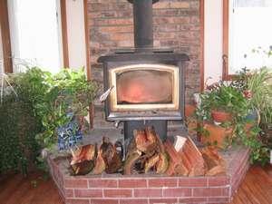 ペンションシフォン:暖炉
