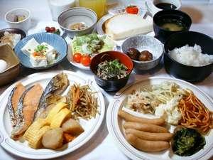 ホテル・アルファ-ワン米子:朝食バイキング