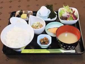 ホテルナガイ:日替わり朝食一例