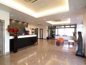 ホテルナガイ:リニューアルしたフロント