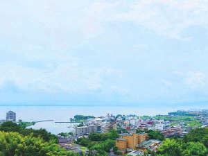 雄山荘からの眺望