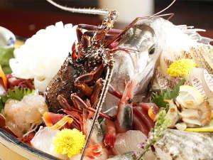 絶景の宿 堂ヶ島ホテル天遊:【夕食】季節のお料理(一例)