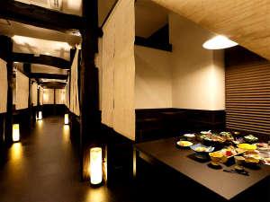 絶景の宿 堂ヶ島ホテル天遊:【夕食】お食事は朝夕個室のお食事処にて