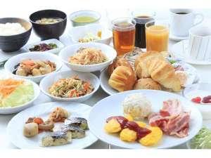 立川アーバンホテルアネックス(別館):本館にて朝食バイキング