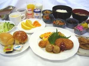 ホテル・アルファ-ワン大津:ご朝食バイキング(盛り付けイメージ)