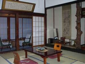 旅館 多聞館:純和風の客室例(1)