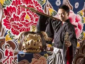 星野リゾート 界 加賀:【加賀獅子舞】毎晩21:30より加賀百万石の伝統芸能「加賀獅子舞」をスタッフが披露します