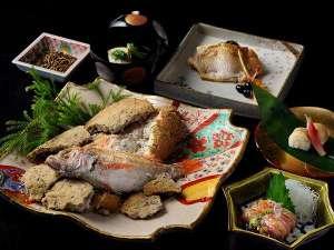 星野リゾート 界 加賀:【春の特別会席】お造り、塩焼き、蒸し物に寿司と、北陸ならではの「のどぐろづくし」をご堪能いただけます