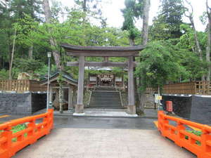 八雲温泉ゆうあい熊野館:【熊野大社】出雲國一之宮。当館徒歩1分。