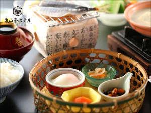 日田温泉 亀山亭ホテル:朝食一例