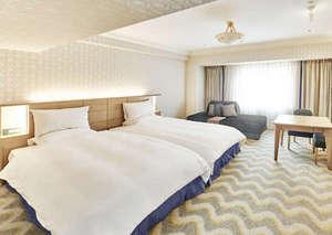 ホテルオークラ東京ベイ:リニューアルスーペリアルーム(ソファベッド)