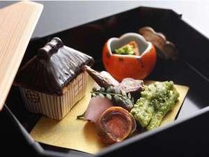 ☆冬の特選料理一例。前菜