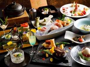 望楼 NOGUCHI 登別:【2018夏のお献立】和食とフレンチを融合し、食材の魅力を最大限に引き出す和洋会席