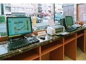 東横イン盛岡駅南口駅前:パソコン