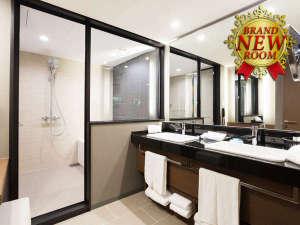 ホテル日航大阪:ニッコープレミアム 浴室
