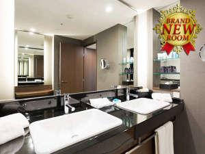 ホテル日航大阪:ニッコープレミアム 洗面台