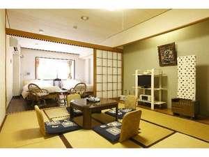 梅ヶ島温泉ホテル梅薫楼:和洋室一例