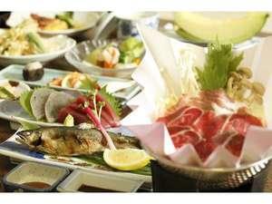 梅ヶ島温泉ホテル梅薫楼:季節のお料理一例