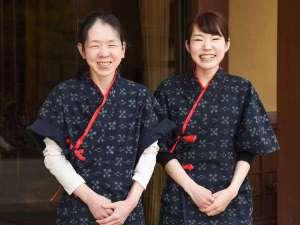 平湯温泉 愛宝館:*女将と若女将です♪笑顔でお客様をお迎え致します♪