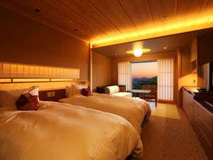 有馬温泉 有馬グランドホテル:【リニューアル】和を楽しみ、和に親しむ。新しい「和」のツインルームが誕生!