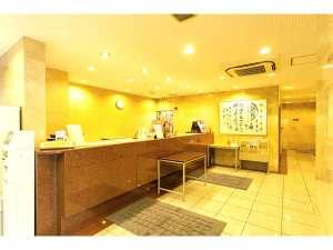 板橋センターホテル:フロント