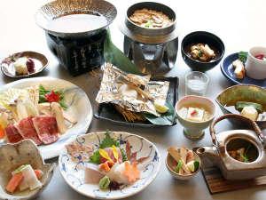 伊豆畑毛温泉 大仙家(HMIホテルグループ):≪9月~11月≫秋限定!松茸と和牛のすき焼など松茸を存分に堪能♪「松茸物語会席」
