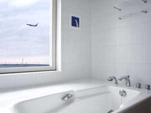 飛行機や海が一望のビューバス(プレミアタイプB)
