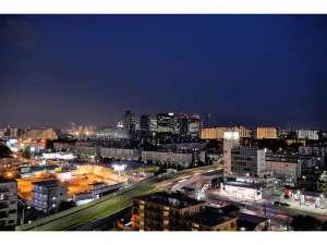 ファミーINN幕張:10階から見渡す夜景