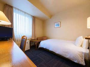 ホテル仙台ガーデンパレス:広めで快適なスタンダードシングルがシモンズ製&デュペスタイルでさらに快適に♪