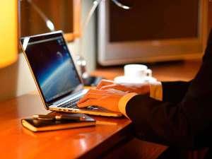 ホテルロイヤル盛岡:【全室Wi-Fi完備】スマホやPC操作もストレスなく行える環境。ビジネス利用にオススメです。