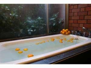 お部屋で楽しむ本物のゆず風呂
