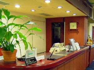 越前屋ホテル:フロント