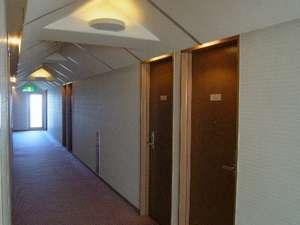 越前屋ホテル:ホテル内客室フロアー