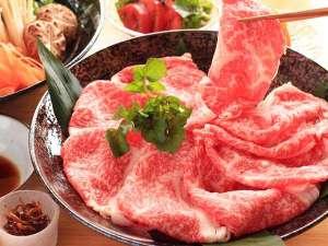 神鍋(かんなべ)高原 ペンション ムーンサイド:美方但馬牛しゃぶしゃぶ