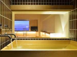 亀や:HOURAI特別室 温泉付客室風呂